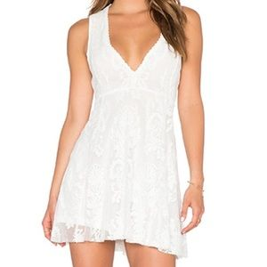 Free People Lace Reign Over Me Sleeveless Dress
